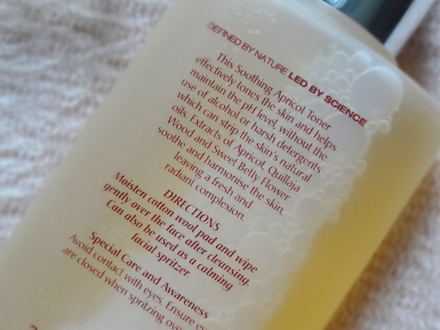 Elemis Apricot Soothing Toner Review, Photos