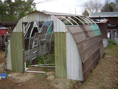 Low rent renaissance pvc pipe and scrap sheet metal for A frame hut plans