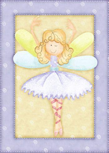 Dibujos coloreados de bailarinas imagenes y dibujos para imprimir - Dibujos de hadas infantiles para imprimir ...