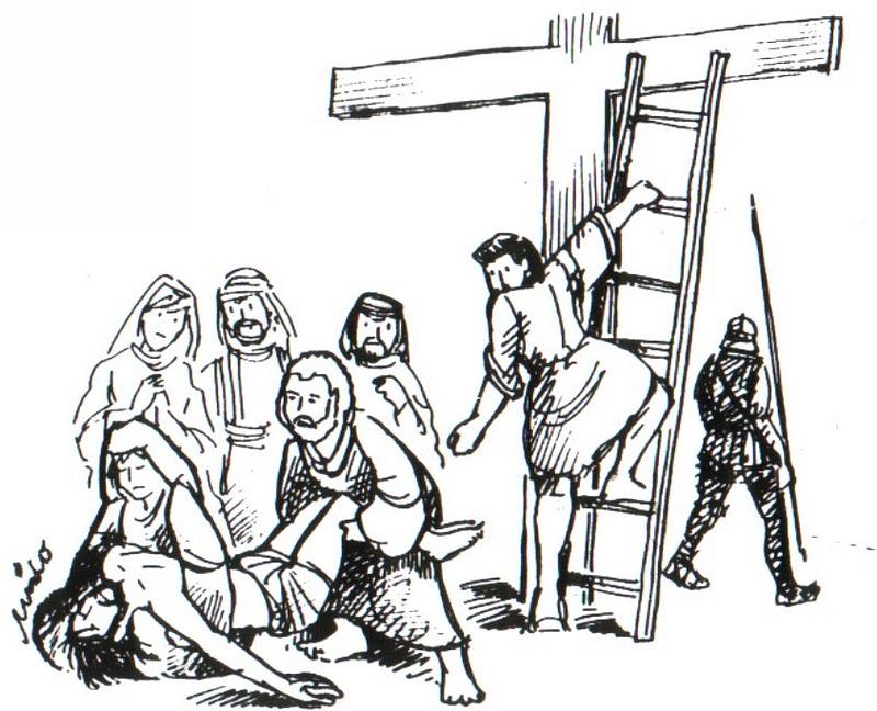 ME ABURRE LA RELIGIN Dibujos para colorear en Semana Santa