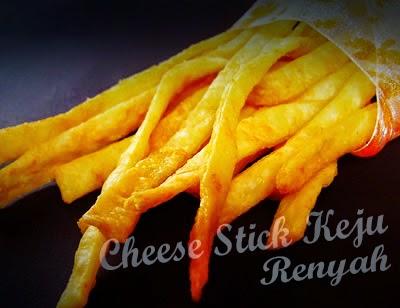 Resep Kue Stik Keju Renyah | Cheese Stick Keju Parmesan