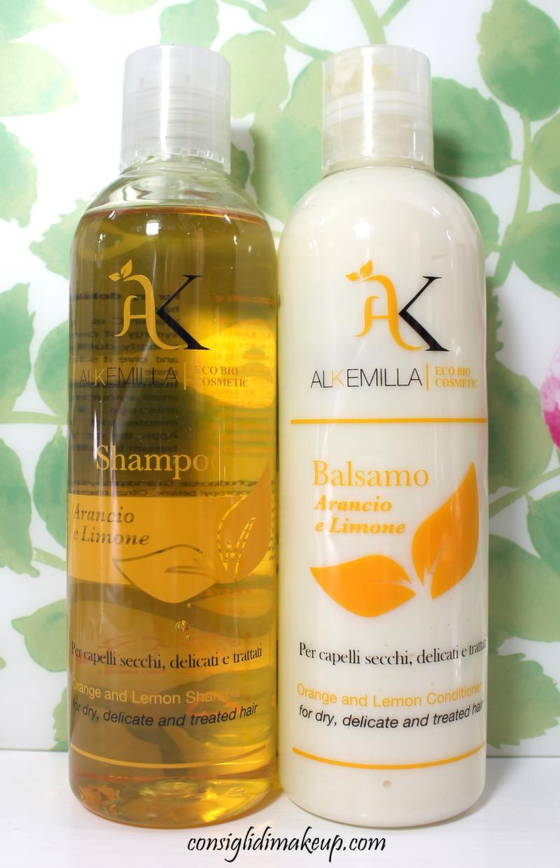 Review: Shampoo & Balsamo Arancio e Limone -  Alkemilla Eco Bio Cosmetics