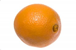 navel orange with a belly button