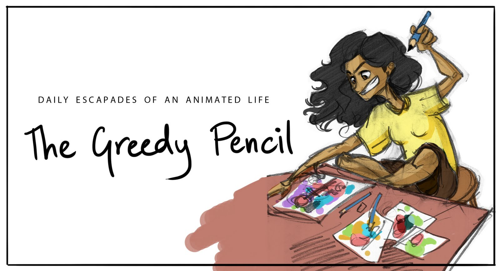 THE GREEDY PENCIL