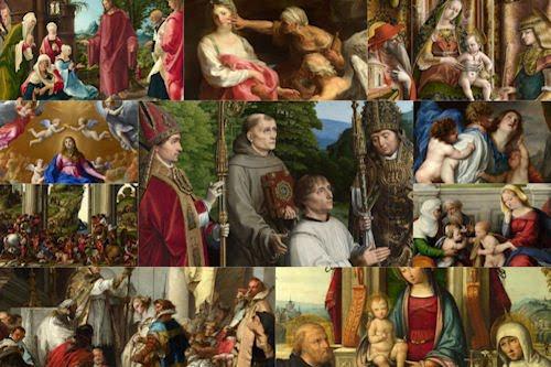 Imágenes, frescos y pinturas católicas VI (10 archivos)