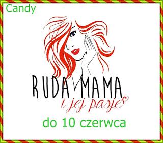 "candy na blogu"" Ruda mama i jej pasje"""