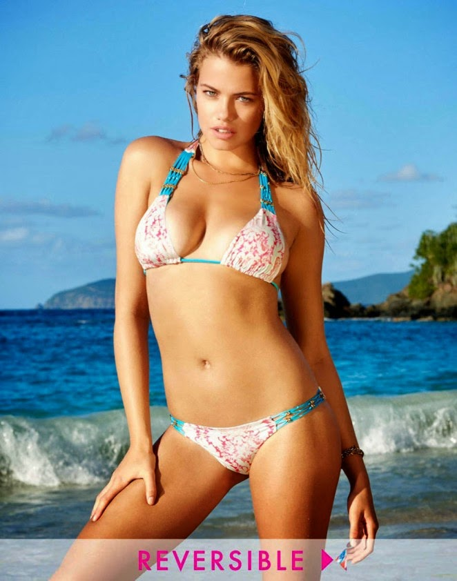 Hailey Clauson is sexy for the Beach Bunny Bikinis Spring/Summer 2015 Lookbook