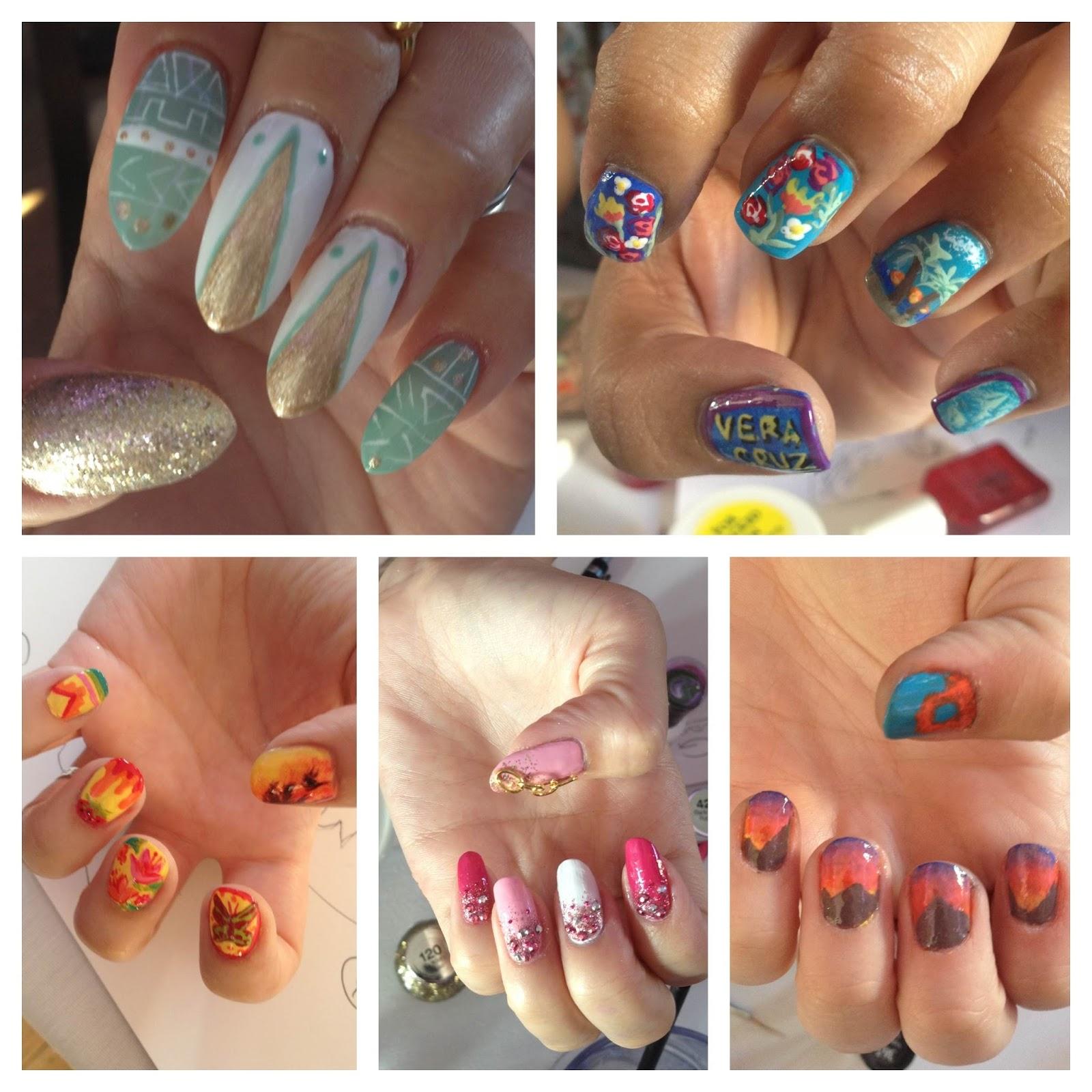 Sally Hansen #IHeartNailArt Grand Finale | Chalkboard Nails | Nail ...