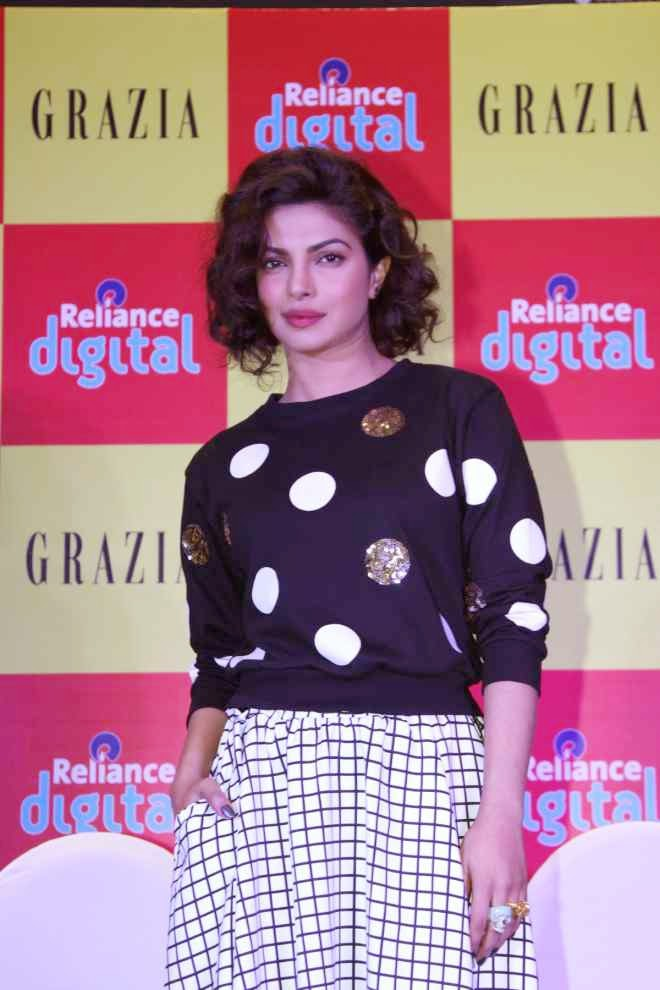 Priyanka Chopra Wallpapers At Grazia Magazine Cover Launch
