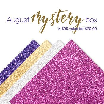 Cricut August Mystery Box