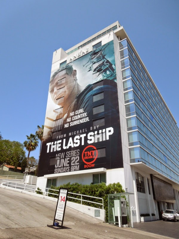 Last Ship giant season 1 billboard