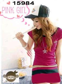 baju-fashion-korea-pink