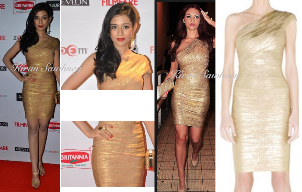 Amrita Rao at Filmfare Pre-Awards Party 2015 in Herve-Leger