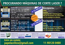 MÁQUINAS DE CORTE LASER