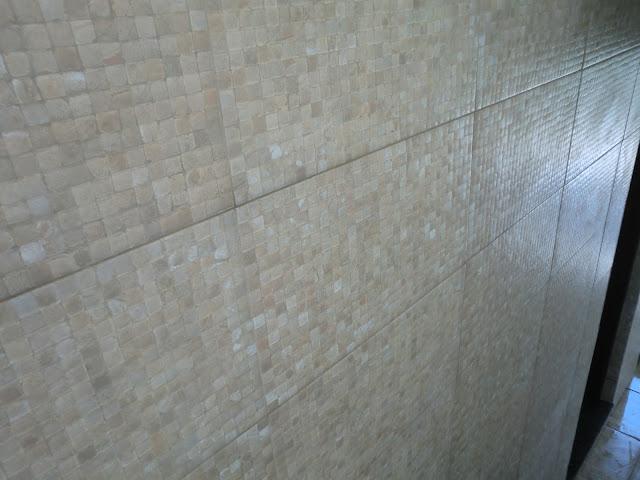 Como limpar revestimento sujo de rejunte & O novo revestimento que imita  -> Banheiro Com Piso Que Imita Pastilha