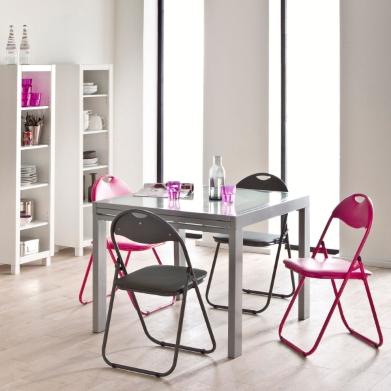d coration par emilie b table ronde vs table carr e convivialit vs praticit. Black Bedroom Furniture Sets. Home Design Ideas
