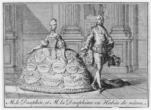 Reading Treasure: Marie Antoinette\'s Wedding Dress