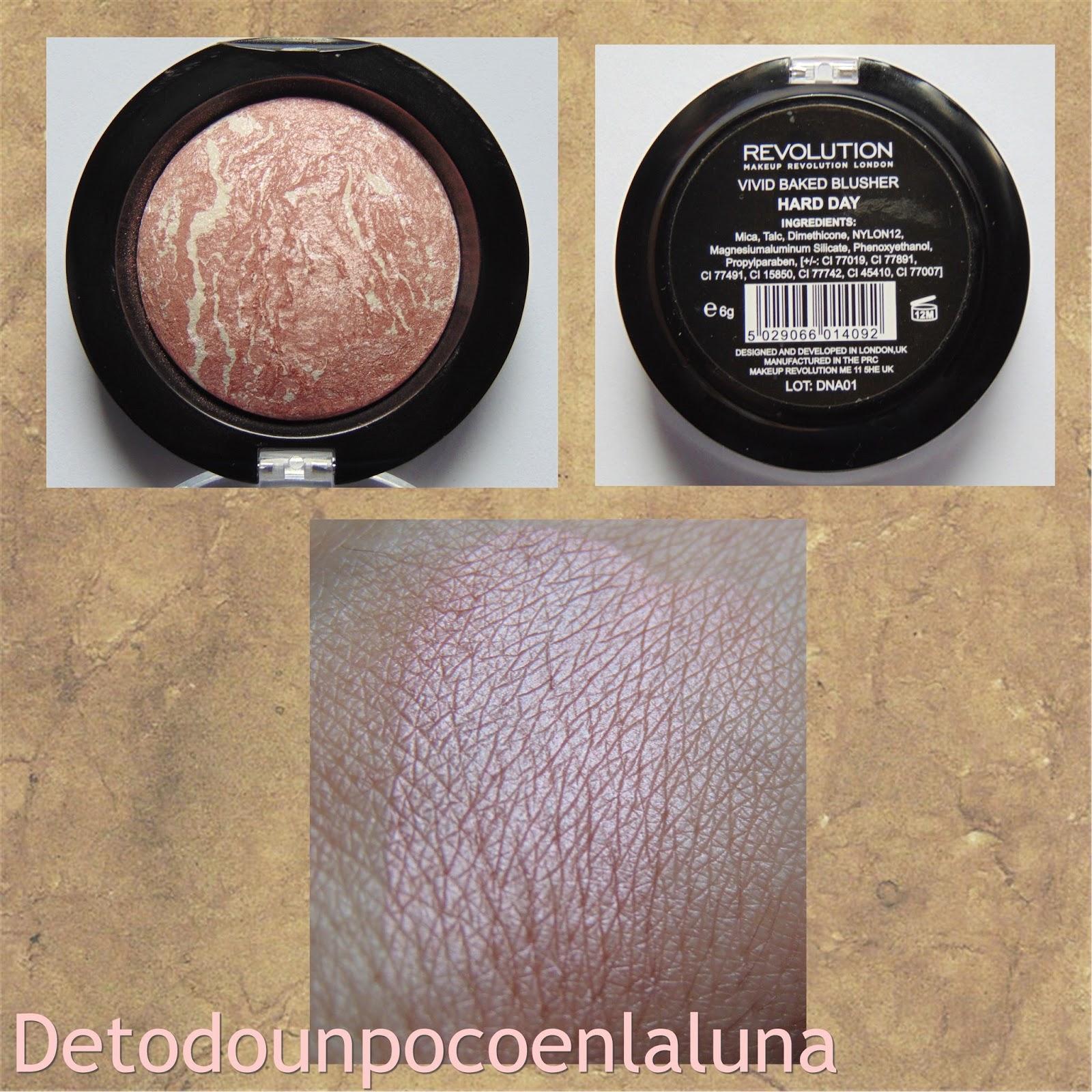 colorete hard day makeup revolution