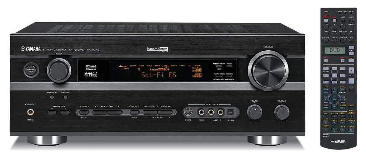 Yamaha rx v740 av receiver audiobaza for Yamaha receiver customer support phone number