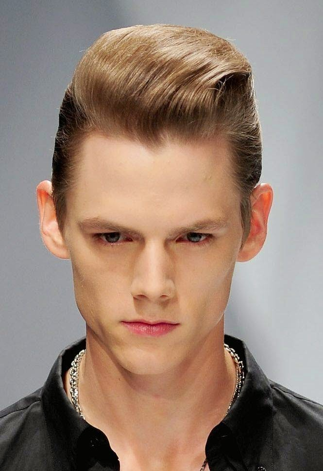 high fashion hairstyles for men