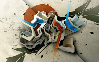 abstract 3d art background wallpaper
