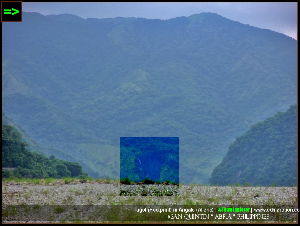 Angalo Footprint: San Quintin, Abra