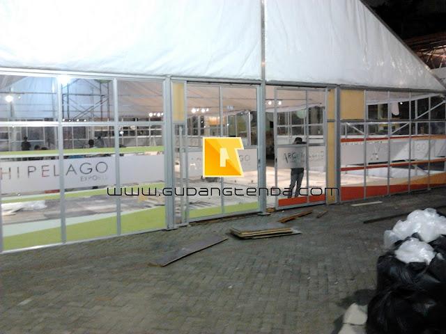 Jual Roder dinding Acrylic, Pembuatan Tenda Roder
