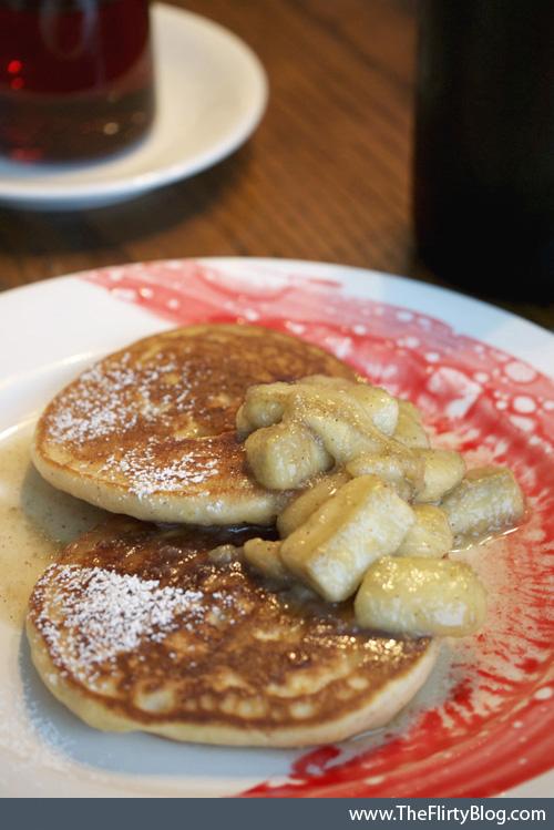Pancakes, Bananas Foster