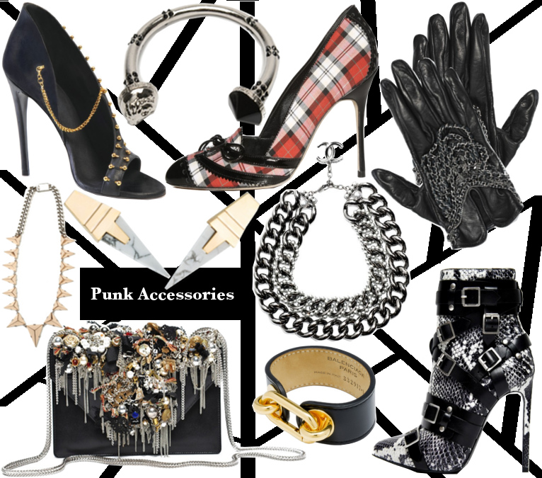 Womens Fall 2013 Punk Accessories Trend