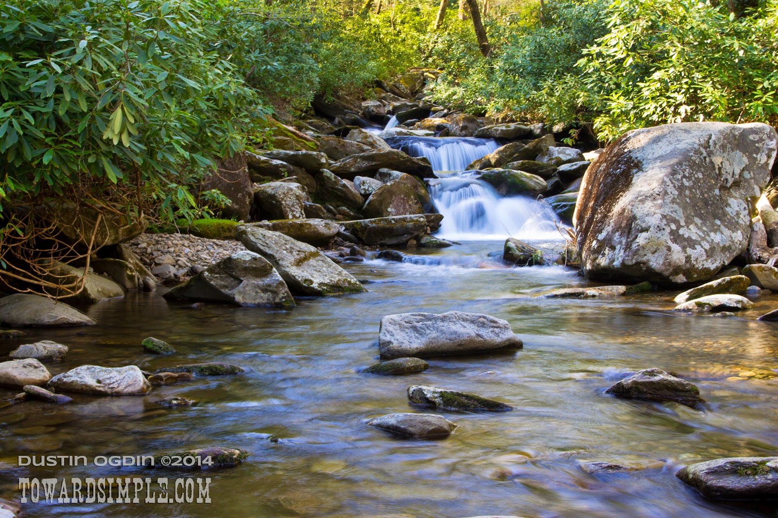 Mountain stream, Smoky Mountains