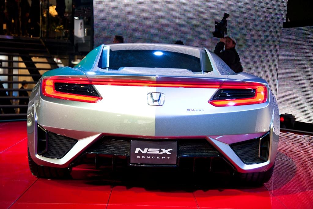 Acura honda nsx concept garage car for Garage concept auto