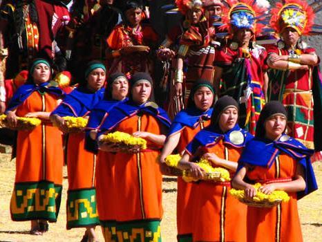 Fiesta del Inti Raymi en imagen