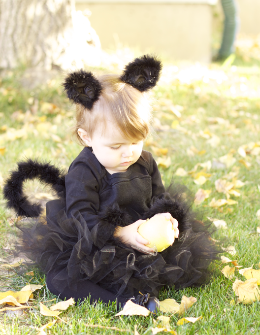 Do it yourself divas diy black cat costume how to make a cat costume for little girl the cutest halloween costume solutioingenieria Choice Image