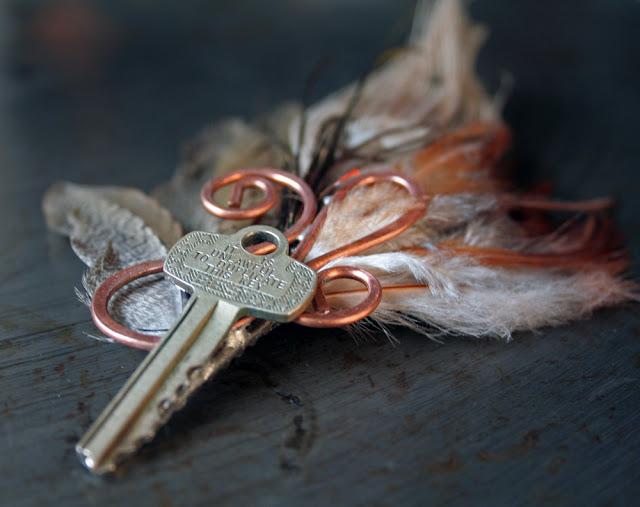 key hair clip