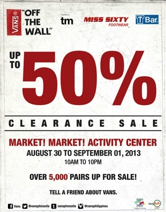vans off the wall sale