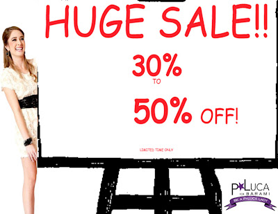 Get 30-50% off at p.Luca for Barami! featured on shopalicious.com