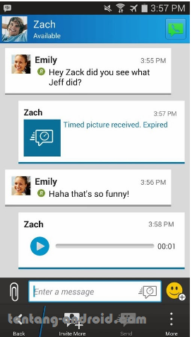 Download BBM + BBM2 mod Free Sticker 2.8.0.21 apk