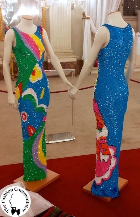 30 anni Galleria del Costume - abiti in paillettes Enrico Coveri, 2013, dono Maison Enrico Coveri