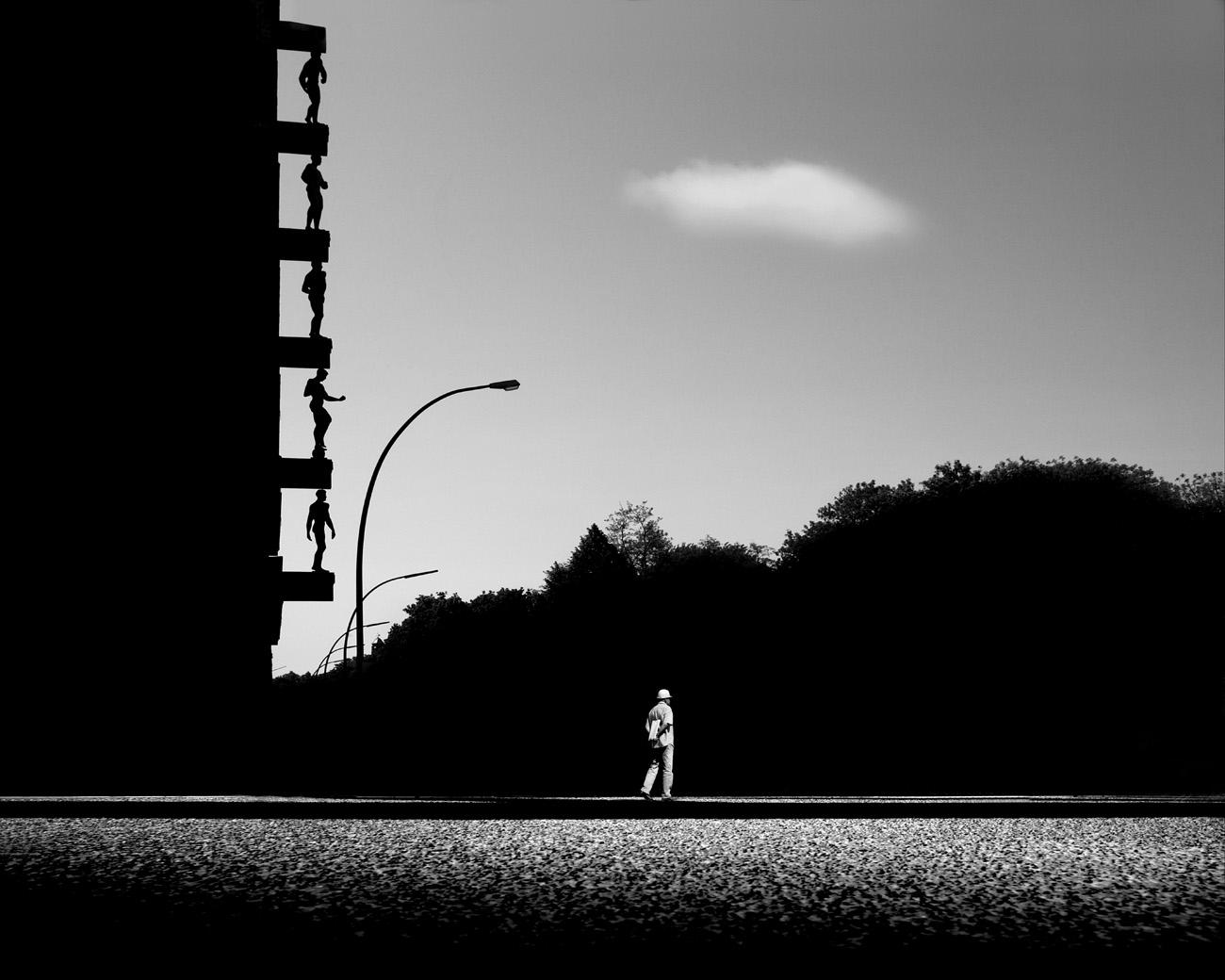 The Reel Foto Gabriele Croppi Urban Landscapes In Black And White