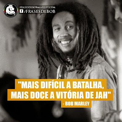 Mensagens de Bob Marley com fotos
