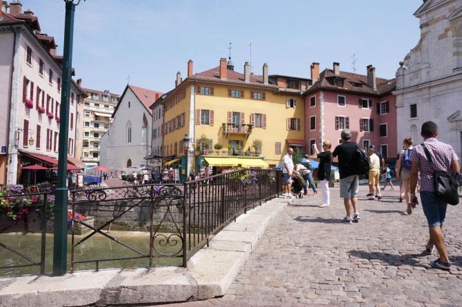 Pont de la ville d'Annecy