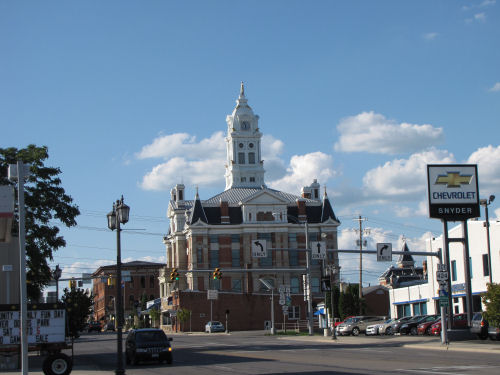 Henry County Courthouse Napoleon Ohio