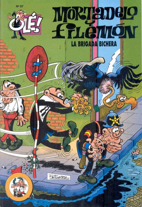 La Brigada Bichera - Mortadelo y Filemón
