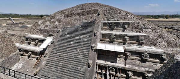 Obras monumentales de Teotihuacan