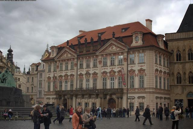 Староместская площадь (Staroměstské náměstí), Прага, Чехия.