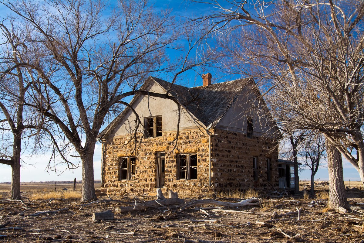 Abandoned Homestead, Prowers County