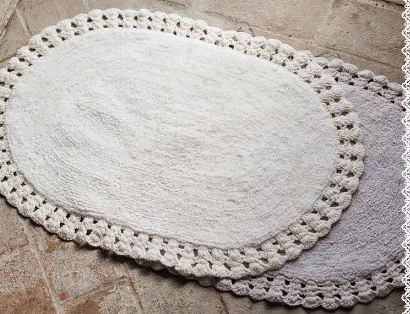 Come Fare Un Tappeto Ovale All Uncinetto Uncinetto Crochet Centro