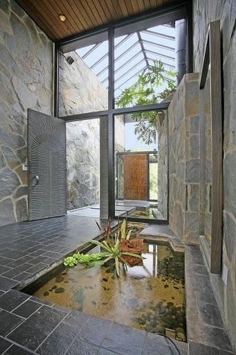 Stone Foyer Entrance : Entryway ideas