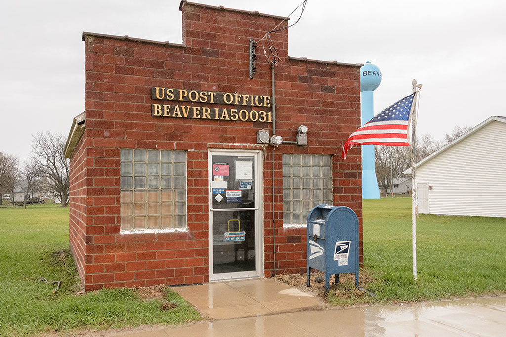 Post office in Beaver, IA