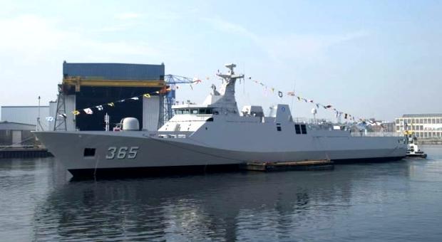 Kapal perang jenis Korvet milik TNI-AL. PROKIMAL ONLINE Kotabumi Lampung Utara